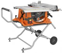Ridgid Tools Jobsite Tablesaw with SUV saw utility vehicle
