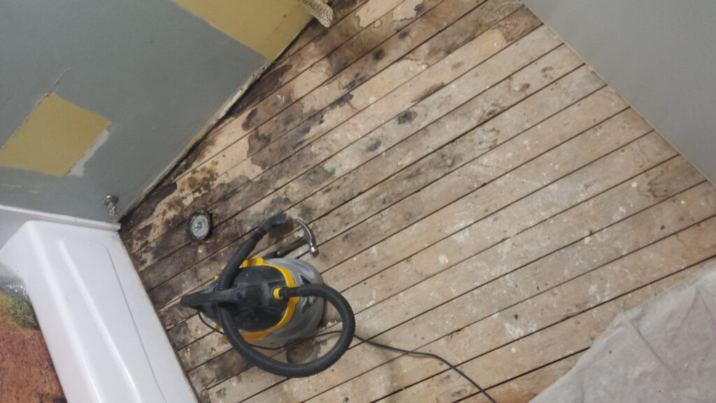 checkpoint subfloor cleaning